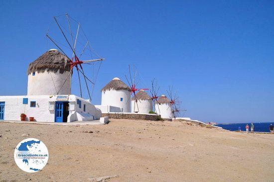 Molens van Mykonos
